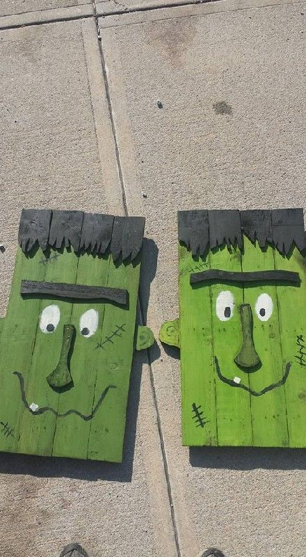 DIY Fall Pallet Ideas 4 ...Read More... | Pallet halloween ...
