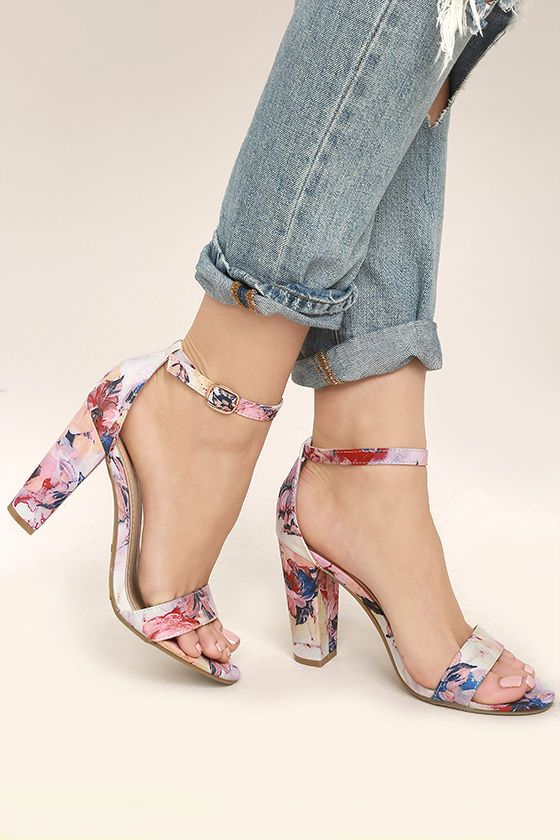 754f12b1569 Don t be a bystander and get your hands on the Lysander Blush Multi Ankle  Strap Heels! Blush pink