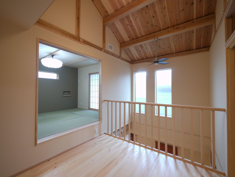 冷暖房のことを気にしなくて良いので 大空間づくりも自由自在 壁や
