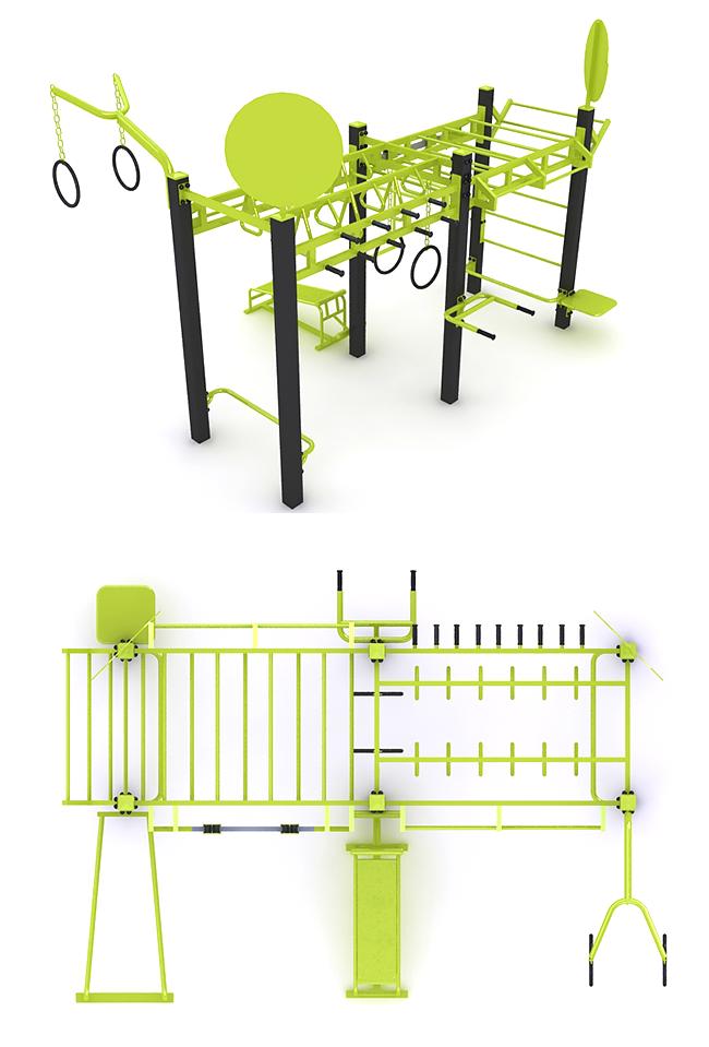 Rey trx 16 ejercicios gimnasios al aire libre - Mobiliario de gimnasio ...