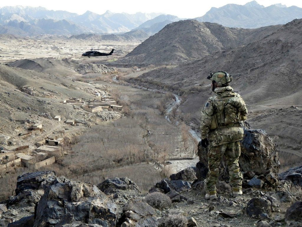 Australian SF (SOTG) in Afghanistan