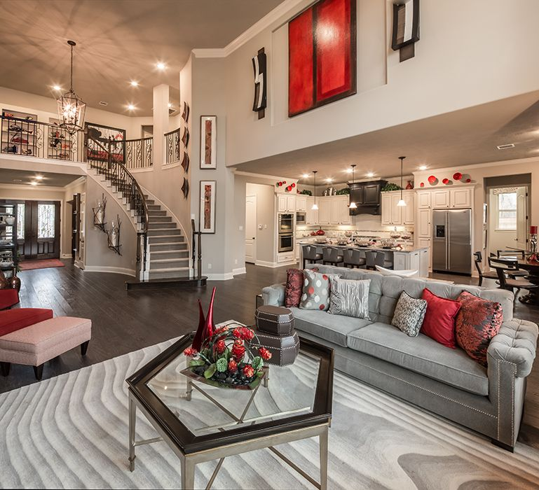 Decorated Model Homes: Photo & Video Gallery