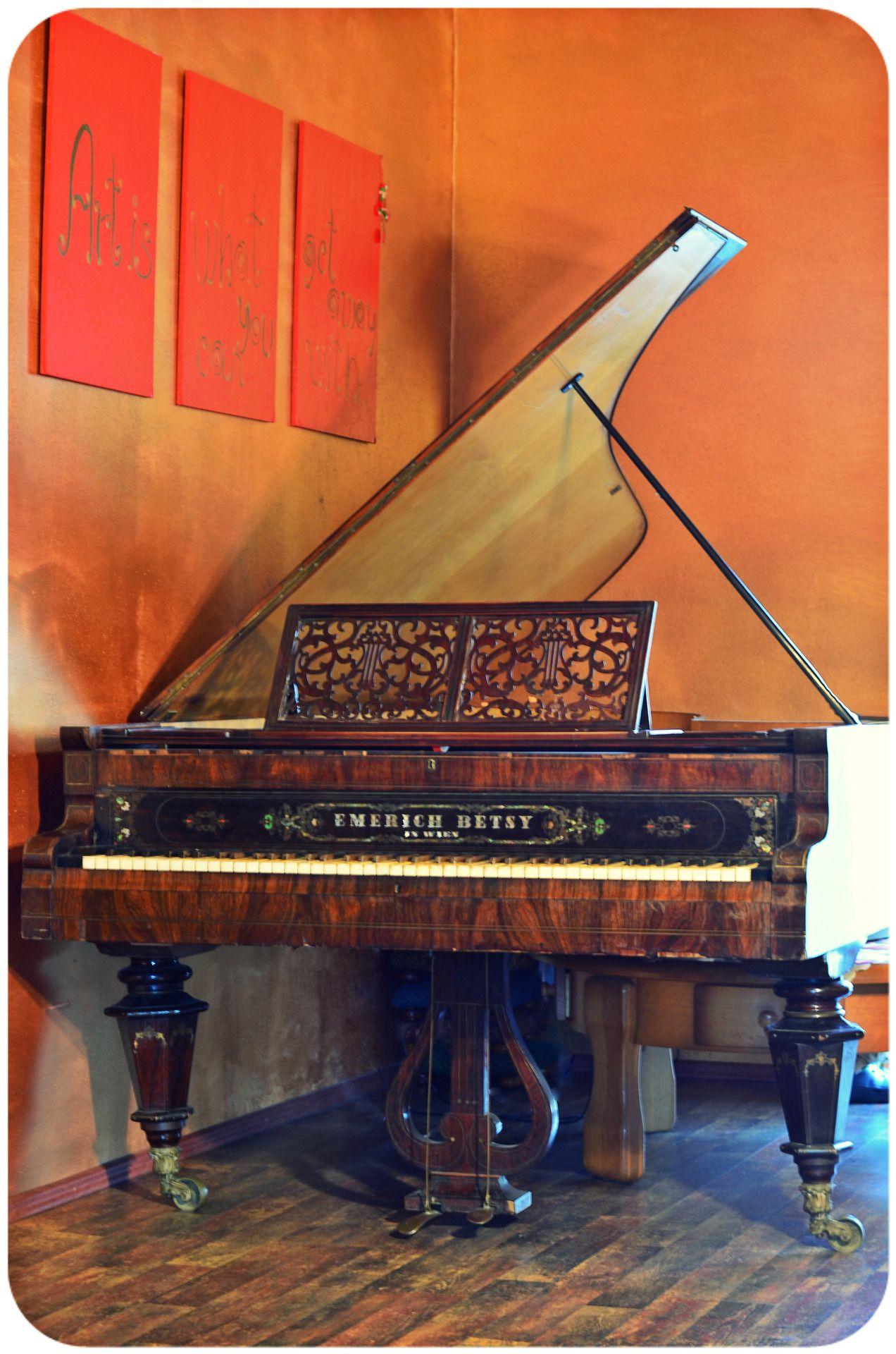 Emerich Betsy Piano {For Sale}, antique piano