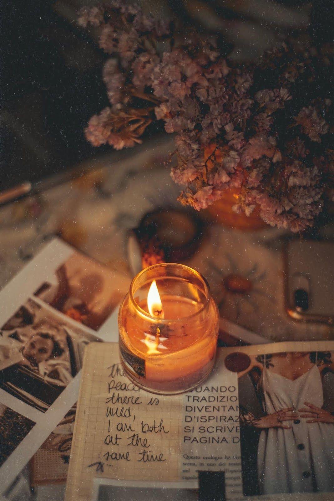Art Bullet Journal Www Fefaluna Blogspot Com Candle Aesthetic Candles Photography Christmas Aesthetic
