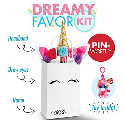 Dreamy Unicorn Favor Kit Kids Party Themesprincess Birthdayunicorn Also Best Birthday Images Activities Pranks Rh