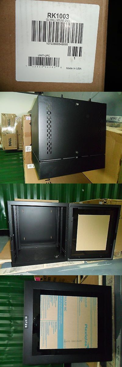 Details About Belkin 12u Wall Mount Rack Enclosure Black Wall Mount Rack Wall Mount Enclosure
