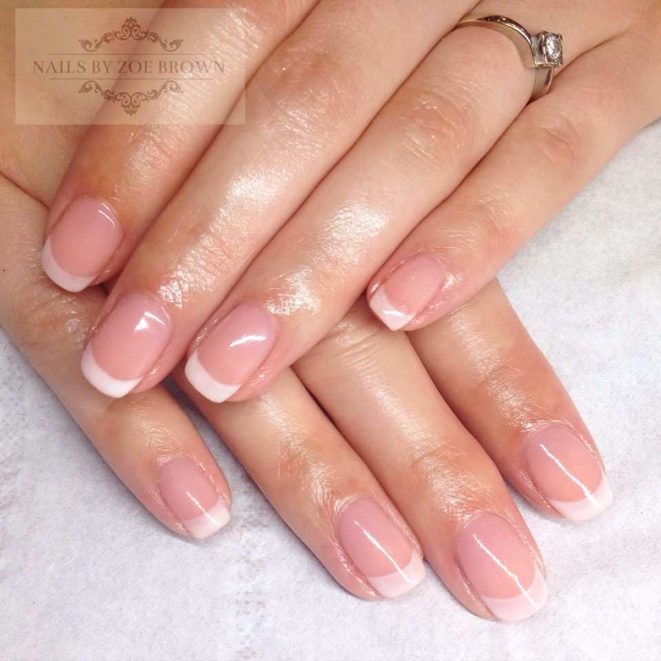 Natural Nails Cnd Shellac Natural French Manicure French