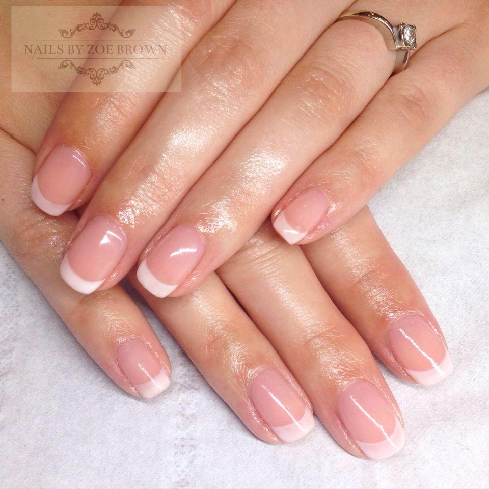 Natural Nails Cnd Shellac Natural French Manicure French Acrylic Nails Natural Nails French Nails
