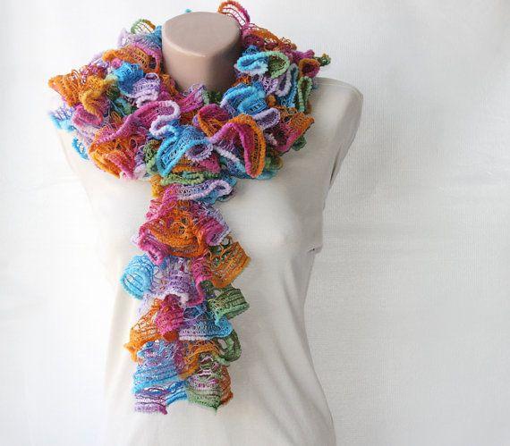 Knit scarf $24.00