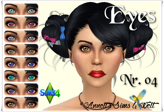 Sims 4 CC's - The Best: Eyes by Annett85