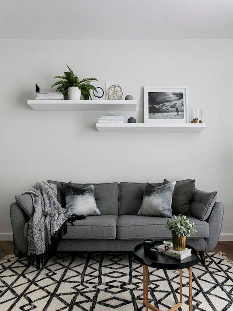 45+ Elegant Rustic Apartment Living Room Decor Ideas Living Rooms