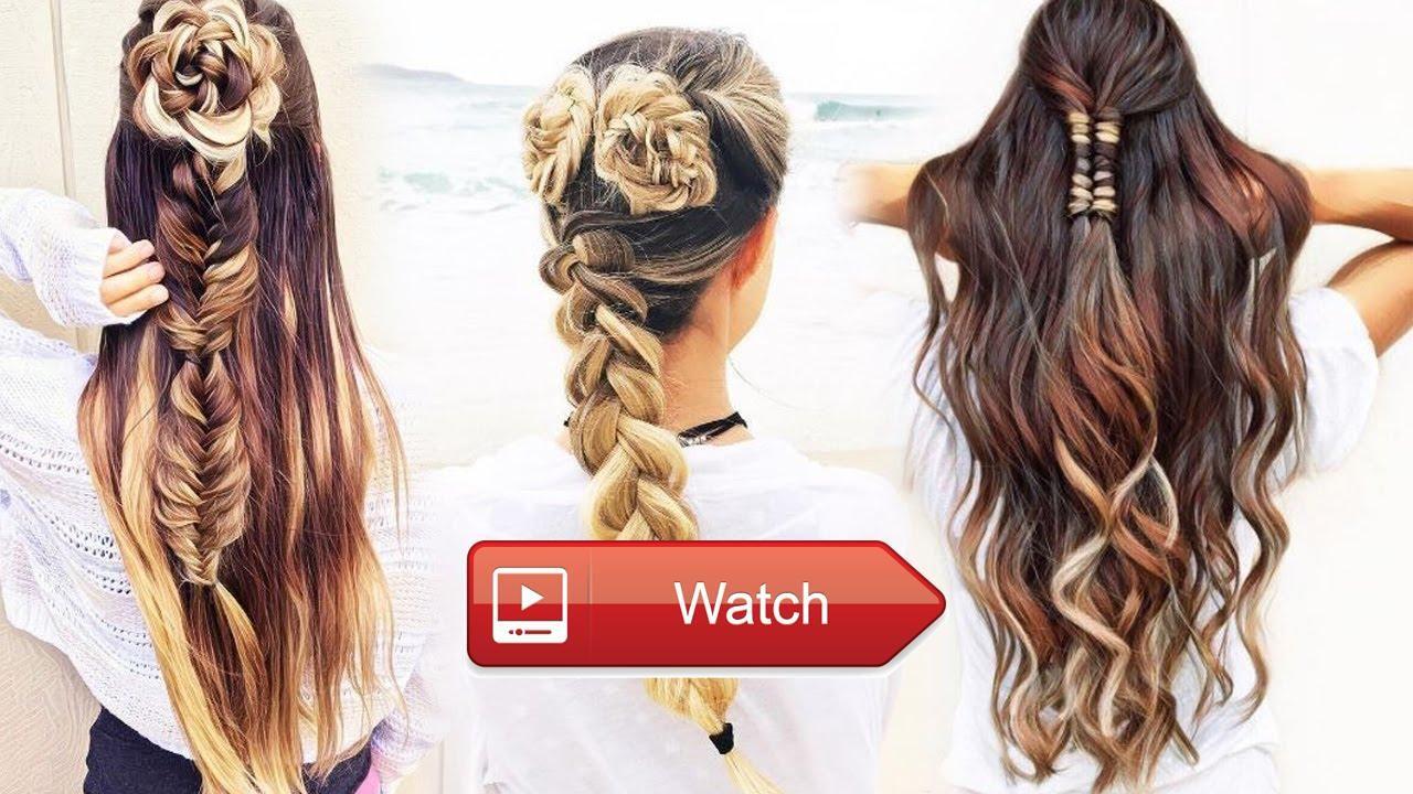 Back to school heatless hairstyles easyhairstyles