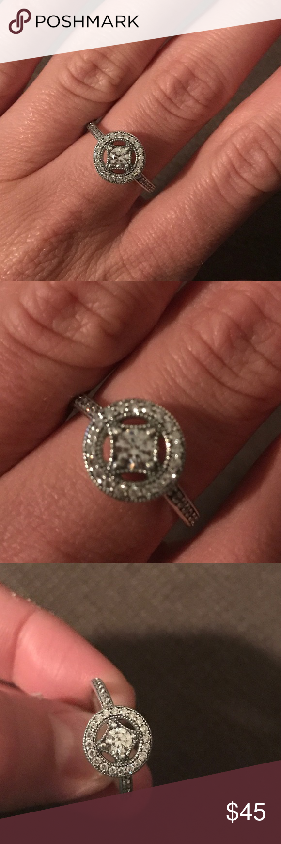 Pandora ring Pandora size 54...size 7 Pandora Jewelry Rings