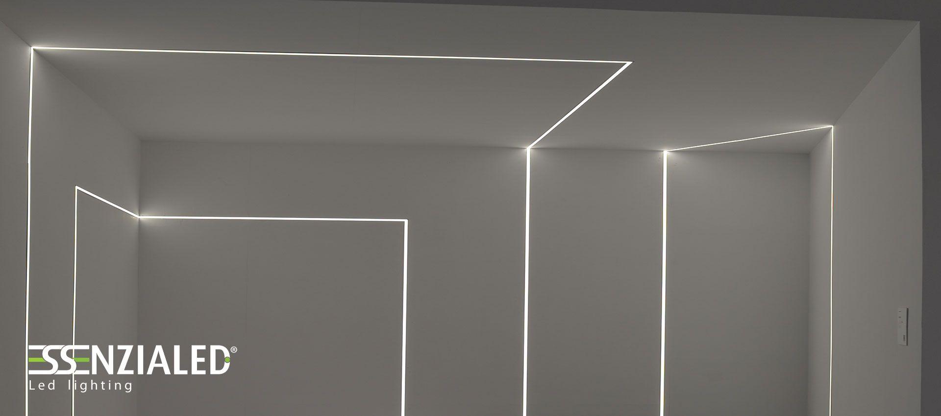 Tagli di luce sulle pareti | Illuminazione led ...