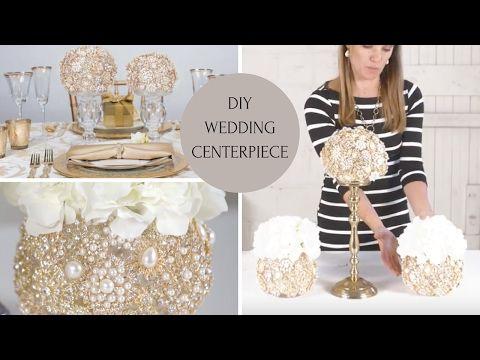 Diy wedding centerpiece wedding decoration ideas diy bling diy wedding centerpiece wedding decoration ideas diy bling centerpieces youtube junglespirit Gallery