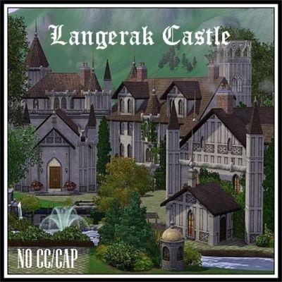 Langerak Castle by Kementari - The Exchange - Community - The Sims 3