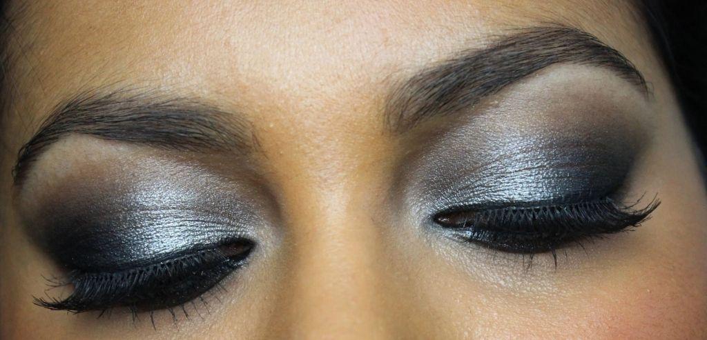 Silver Eyeshadow Makeup Silver Amp Black