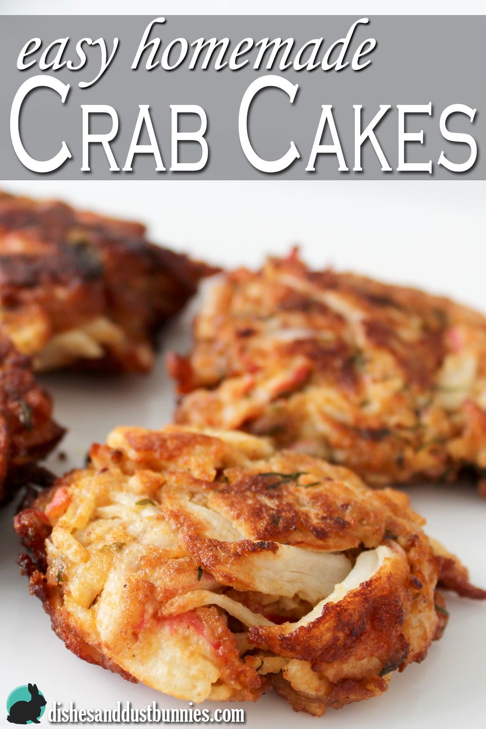 Photo of Simple homemade crab cakes