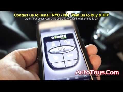 Remote Engine Start with Vehicle Feedback 2015 Acura MDX - YouTube
