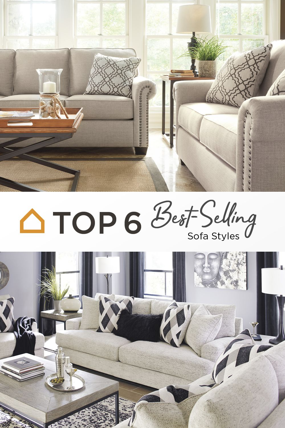 Top 6 Best Selling Sofa Styles in 2019 | Sofa styling, Sofa ...