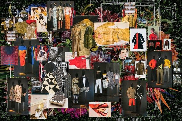 lylybye dries van noten inspirations exhibition les arts