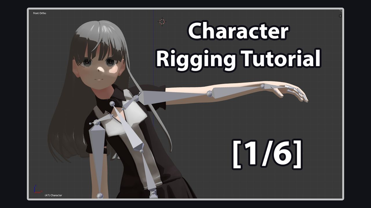 character rigging in blender pdf