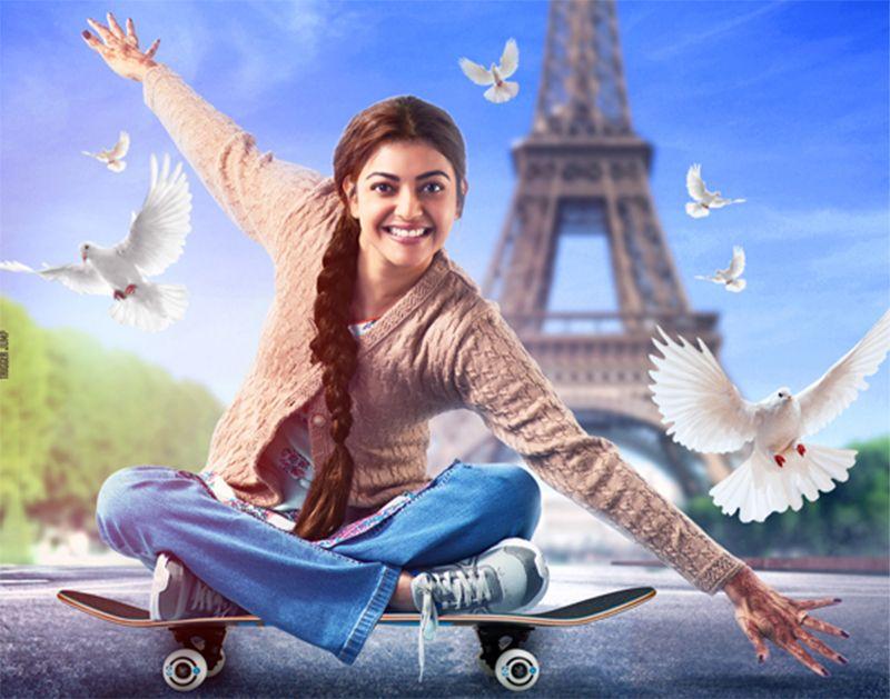 Kajal Agarwal Paris Paris Movie First Look Posters