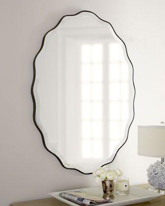 $295 + free shipping.  Great vanity mirror. Teadora Mirror - Horchow