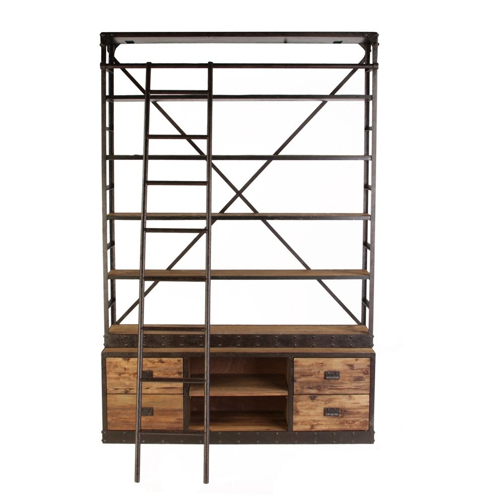 Explore Industrial Bookshelf, Industrial Style, And More!