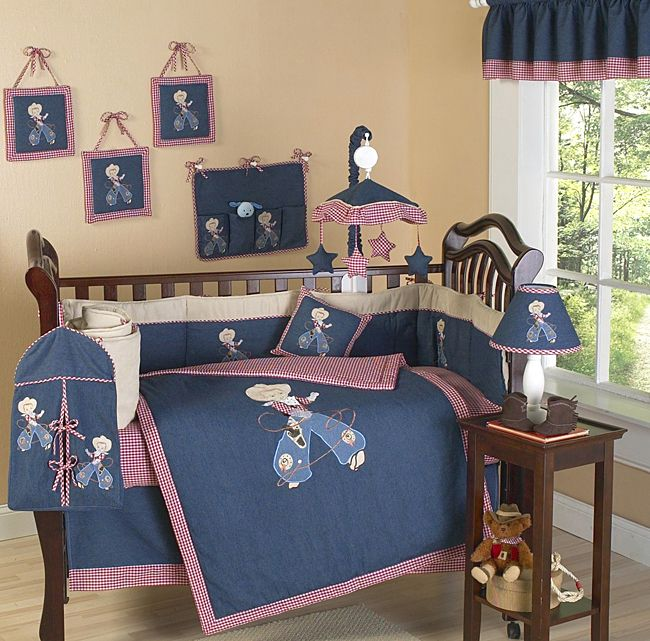 South Western Cactus Baby Bedding 9pc Boys Girls Crib Set By