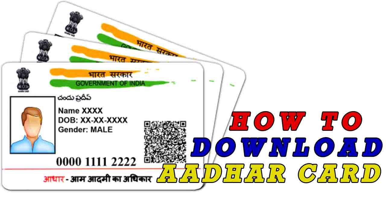 How To Cheek Aadhar Status And Downoad Aadhar Card Aadhar Card Cards Card Downloads