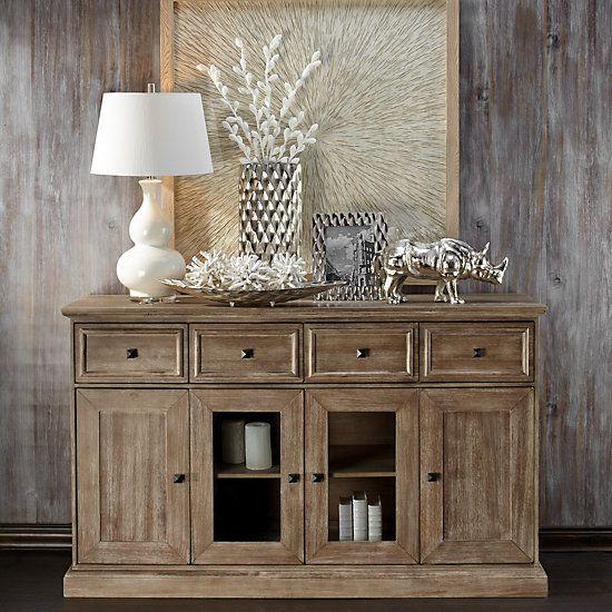 Archer Wash Oak Buffet In 2020 Decor Home Decor Furniture