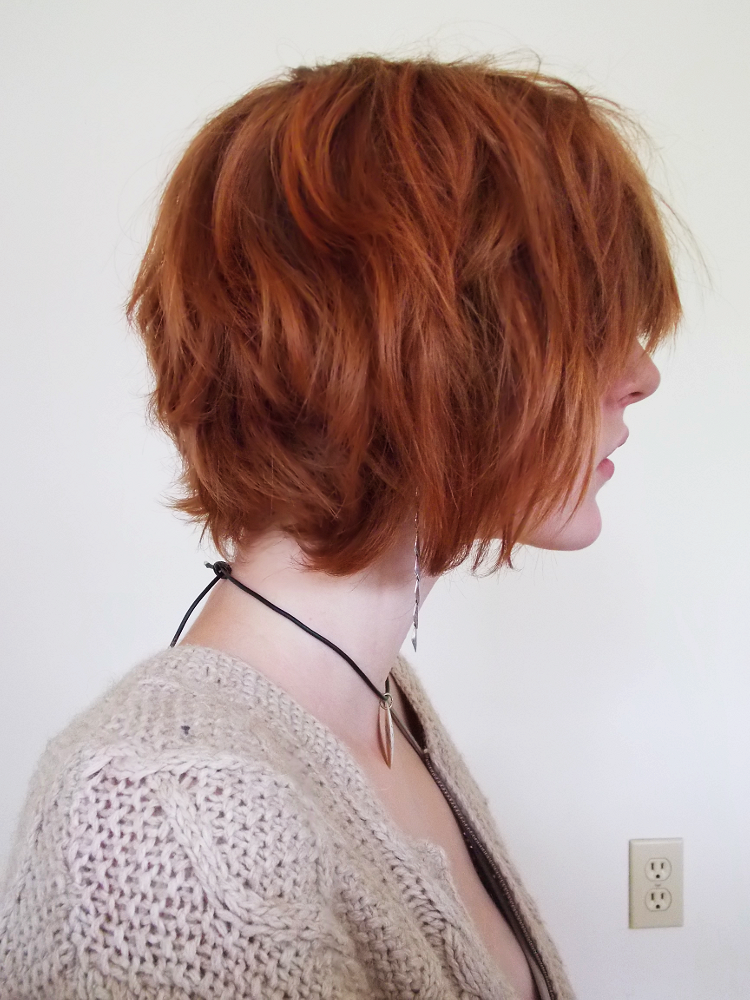 one day my hair will be this length all the way around