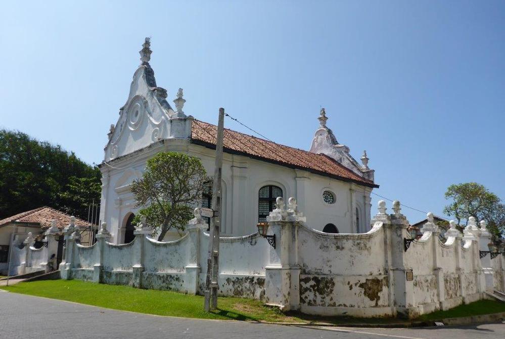 Dutch church in Galle, Sri Lanka