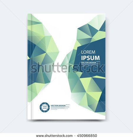 Abstract Vector Polygonal Design For Cover Poster Banner Flyer