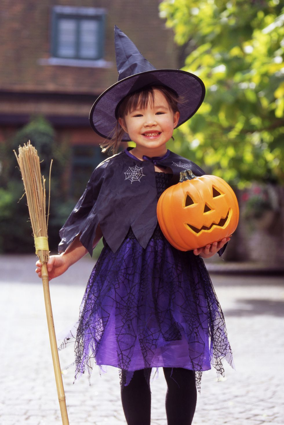 This Magical Kids' Witch Costume Is so Easy to DIY for