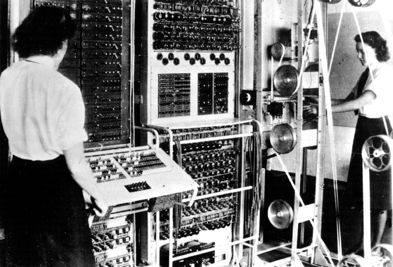 Who's the 1st founder of computer?