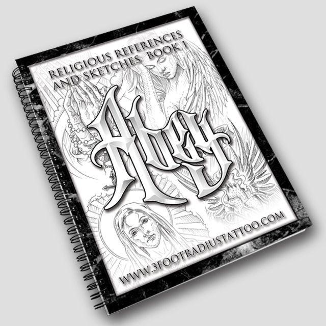 By Abey Alvarez 25 pages of Religious sketches from the archives of Abey Alvarez. - 8.5″x11″ - Card stock paper - High-Gloss Cover - Wire ...