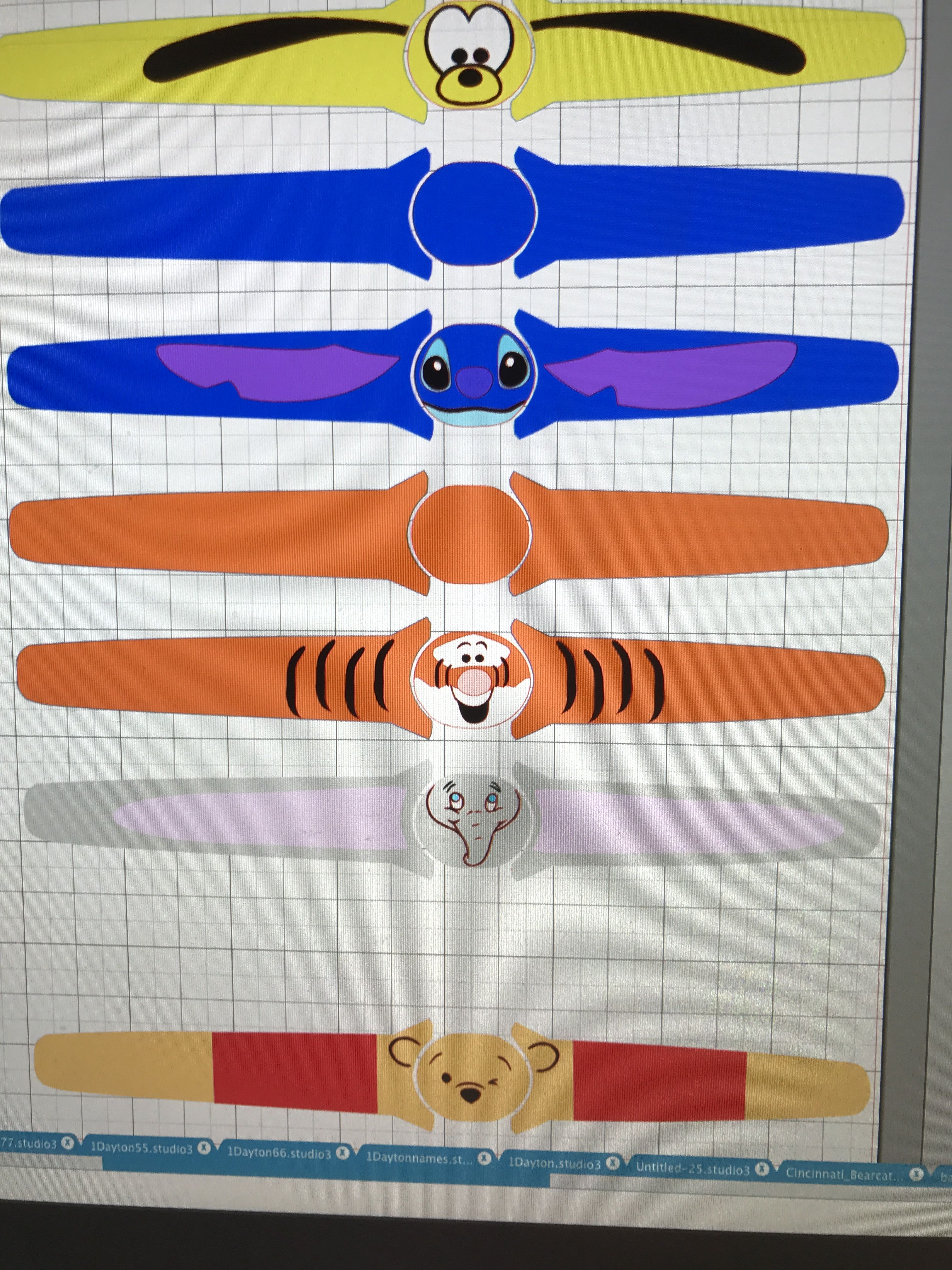 Magic band 2 0 vinyl template from www ourcraftspace com