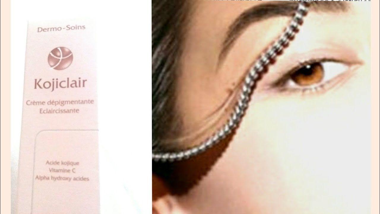 احسن كريم مبيض للوجه و المناطق الحساسة Kojiclair Creme C Depigmentante Eclaircissante Youtube Sleep Eye Mask Creme Beauty