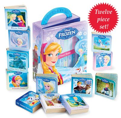 Disney's Frozen My First Library Books- Set of 12