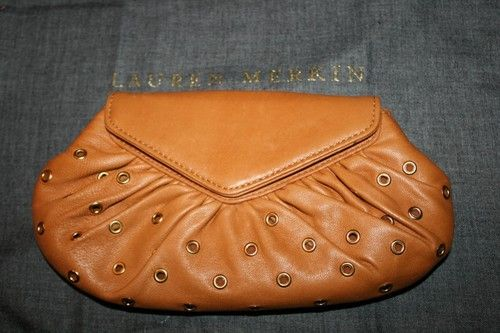 Love this Lauren Merkin studded clutch. Classic bag to use year round.