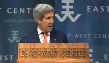 Kerry: Climate Change is 'The Biggest Challenge of All That We Face Right Now' August 14, 2014 - 4:52 AM
