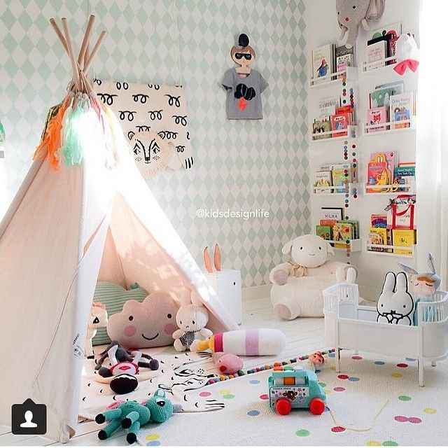 """""""How gorgeous is this beautiful room of goodies filled to the brim with cuteness . Thanks @kidsdesignlife for sharing ."""" Photo taken by @ladedahkids on Instagram, pinned via the InstaPin iOS App! http://www.instapinapp.com (04/10/2015)"""