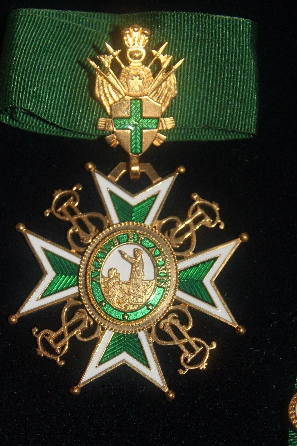 0ba5424e2fe The Military and Hospitaller Order of Saint Lazarus of Jerusalem Medal Set  | eBay