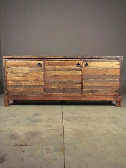 Reclaimed Sideboard   Redinfred.com Perfect Media Cabinet, Tv Stand, Dining  Or Bedroom