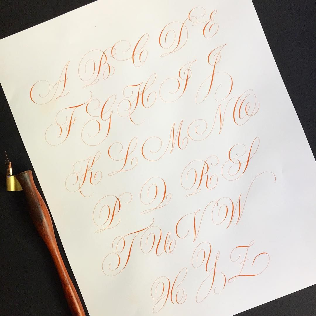 I've been studying this exemplar by Ramon Stirling a fine Spanish penman from de XIX century. His work is amazing, but sadly I can't find much of his work on the web .  handletteredabcs  handletteredabcs_2018  calligraphy  caligrafia  ramonstirling  penman  copperplate  redondainglesa  pointedpen  practice  penmanship  goals