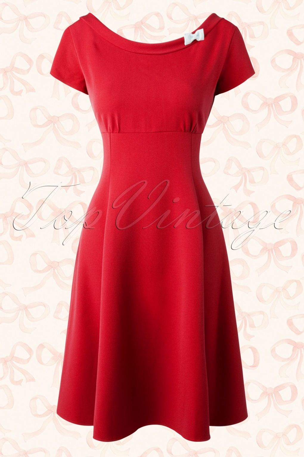 This s miriam bow swing dress is the perfect combination of