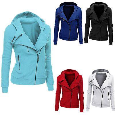 Women Fashion Winter Hooded Slim Coat Jacket Tops Casual Warm Sportwear Outwear https://t.co/vCJaHkALVp https://t.co/G6V43h1c7l