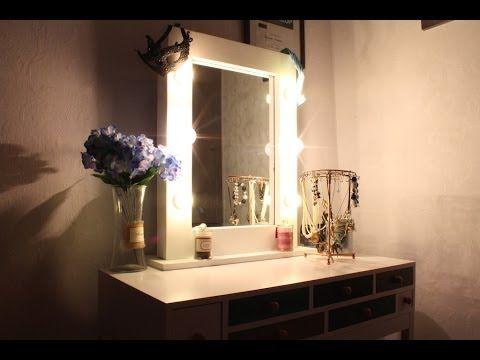 Зеркало с подсветкой своими руками в прихожую фото 740